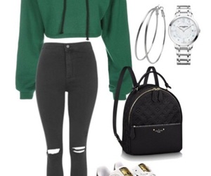 casual, christmas, and Polyvore image