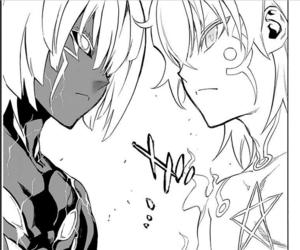 anime, twin star exorcist, and manga image