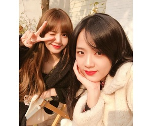 lisa, blackpink, and kim jisoo image