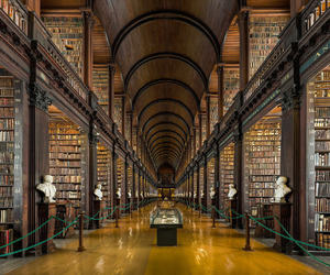 library, dublin, and ireland image