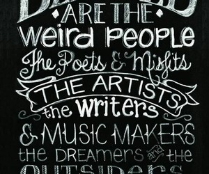 artist, quotes, and weird image