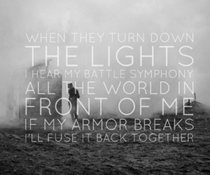 band, bands, and Lyrics image