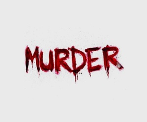 murder, aesthetic, and red image