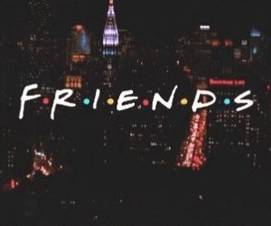 friends, f.r.i.e.n.d.s, and gif image