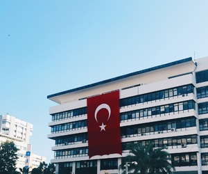 turkey, turquie, and drapeau image