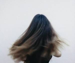 ghost, outside, and myhair image