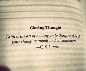 quotes, faith, and c.s. lewis image