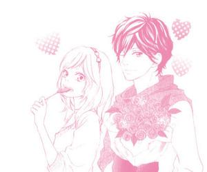 manga and ao haru ride image