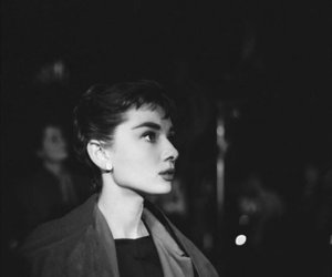 audrey hepburn, girls, and black and white image