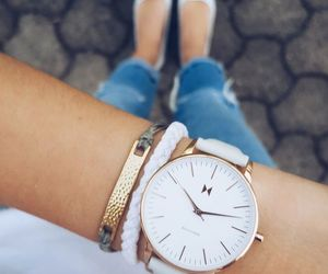 accessories, wristwatch, and bracelet image