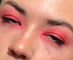 make up and pink make up image