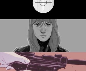 black widow, comics, and Marvel image
