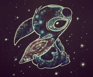 stitch, disney, and stars image
