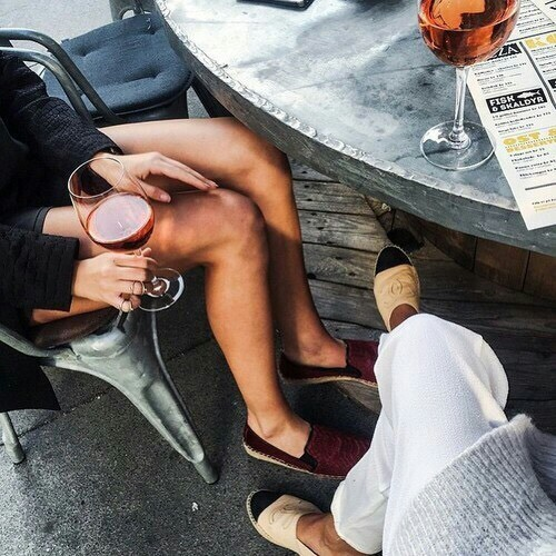 drink, wine, and friends image
