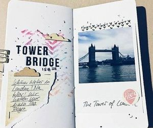 bullet, journal, and travel image