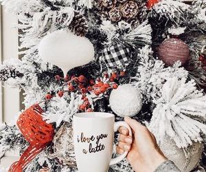 christmas, christmas tree, and holiday image