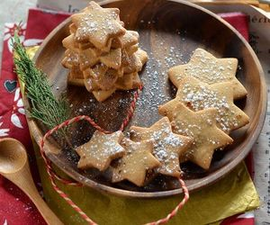 christmas, Cookies, and cooking image