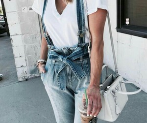 bag, denim, and fashion image