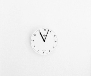 clock, simple, and time image