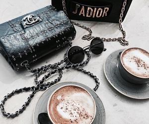 fashion, chanel, and coffee image