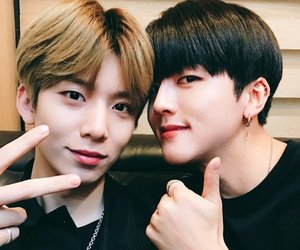 sf9, youngbin, and hwiyoung image