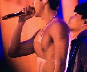 exo, sehun, and abs image