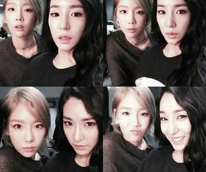 korean, snsd, and tiffany image