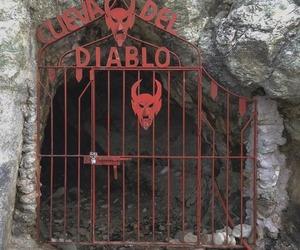 Devil, diablo, and horror image