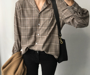 asian fashion, korean fashion, and blouse image