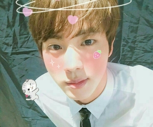 edit, jin, and pink image