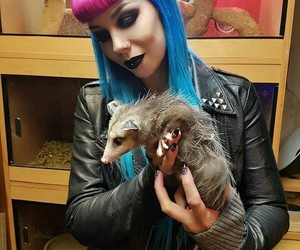 animal, metal girl, and metal image
