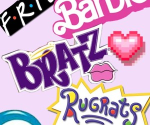 90s, barbie, and rugrats image