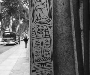 black and white, peruvian, and draws image