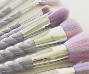 aesthetic, make up, and unicorn image