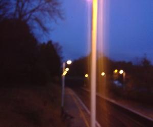 night, tumblr, and trains image