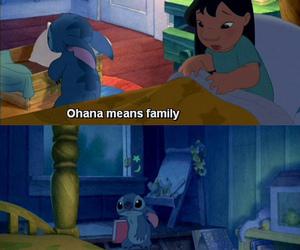 family, ohana, and lilo image
