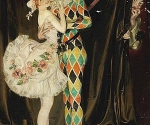 circus and harlequin image