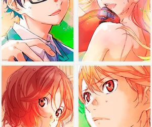 manga, love, and shigatsu wa kimi no uso image