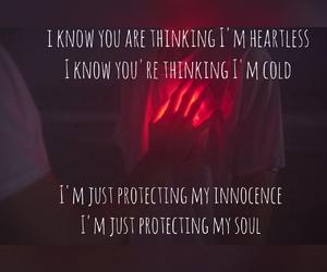 feelings, heart, and Lyrics image
