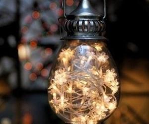 light, christmas, and lantern image