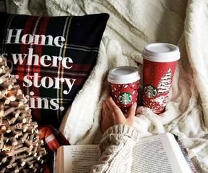 christmas, holiday, and starbucks image