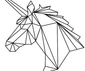 unicorn, animal, and white image