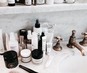 beauty, makeup, and bathroom image