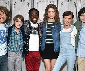 stranger things, cast, and gaten matarazzo image