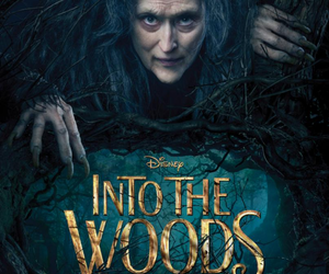 into the woods, meryl streep, and movie image