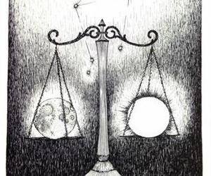 Libra and zodiac image