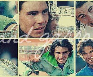 king, Rafael Nadal, and tennis image