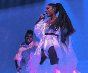 dwt, dangerous woman tour, and ariana grande image