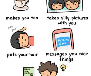 comic, love, and cute image