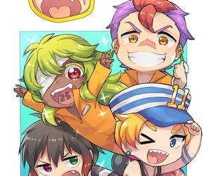 anime, love, and nanbaka image